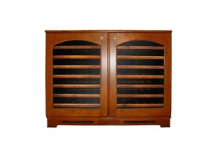 Bordeaux Wine Cellar (2-Zone Credenza )